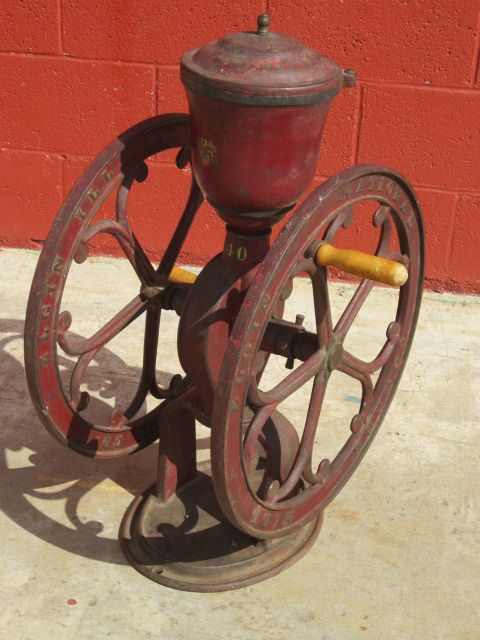 Antique National Coffee Mill Antique Coffee Grinder Antique Mill