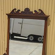 Antique Victorian Wall Mirror Over Mantle Mirror Antique Furniture