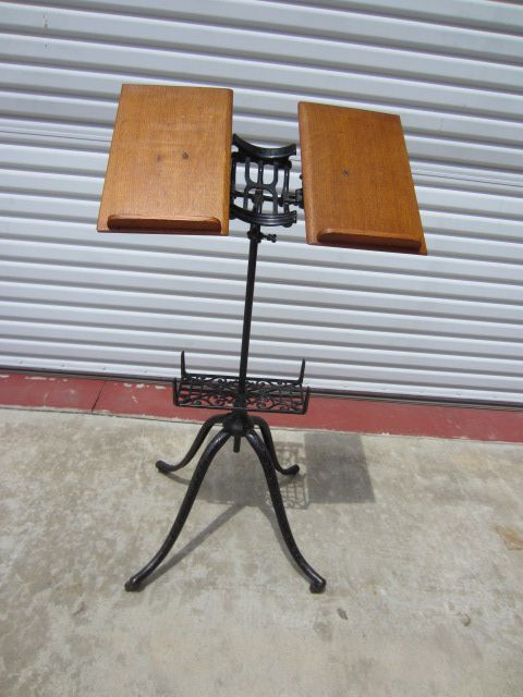 American Antique Victorian Book Stand