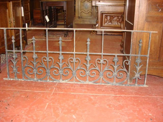 Antique Hand Forged Iron Gate