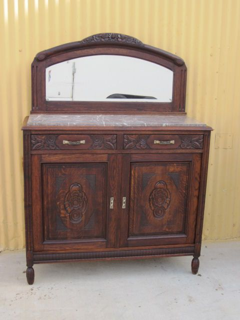 French Antique Sideboard Server Buffet Cabinet Antique Furniture