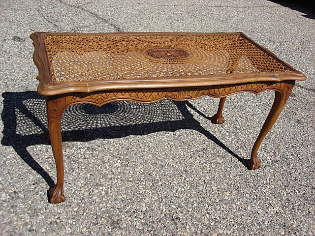 French Antique Furniture Chippendale Coffee Table Antique Coffeetable