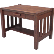 Antique Arts and Crafts Desk Antique Mission Desk Antique Furniture