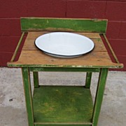 Antique Primitive Washstand Antique Country Furniture