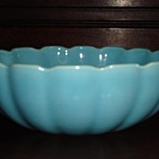 Beautiful Hand Made Original Catalina Pottery Large Bowl USA Pottery California Pottery