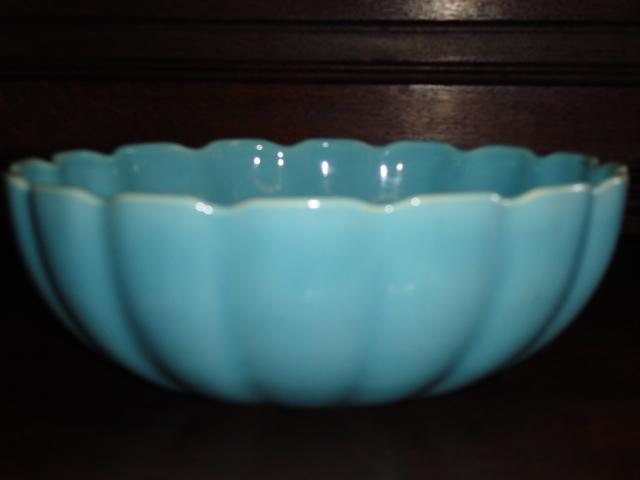Beautiful Hand Made Original Catalina Pottery Large Bowl USA Pottery California Pottery