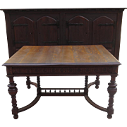 Antique French Dining Table Antique Library Table French Antique Table Antique Furniture