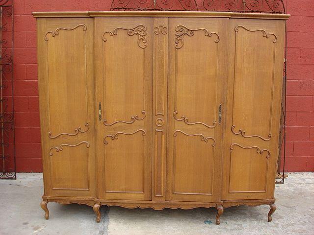 Attractive Vintage Armoire Wardrobe Closet