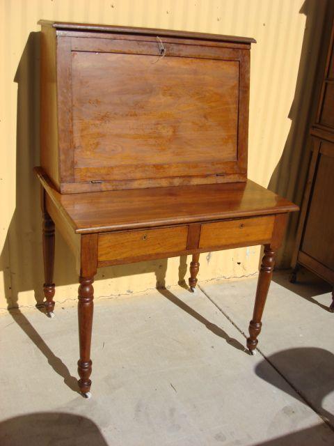 American Antique Break Front Secretary Desk Antique Office Furniture