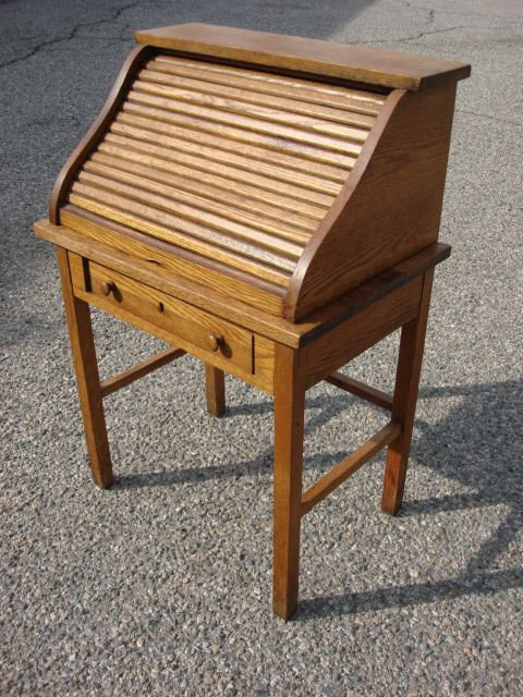 American Antique S Top Child's Roll Top Desk