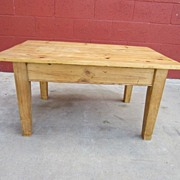 English Antique Primitive Pine Coffee Table Antique Country Furniture