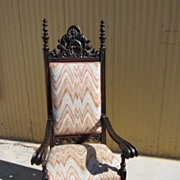 Antique Arm Chair Carved Antique Office Chair Accent Chair Antique Furniture