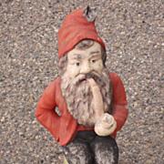 Vintage American Gnome Statue Architectural Yard Art Garden Statue