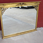 Antique Gilt Wall Mirror Antique Pier Mirror Antique Furniture