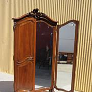 French Antique Cheval Floor Mirror Dressing Mirror Furniture