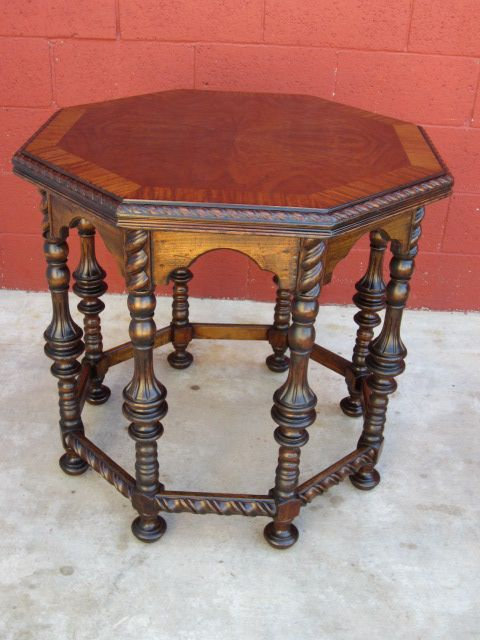 American Antique Table Lamp Table Side Table Center Table Furniture Sold On Ruby Lane