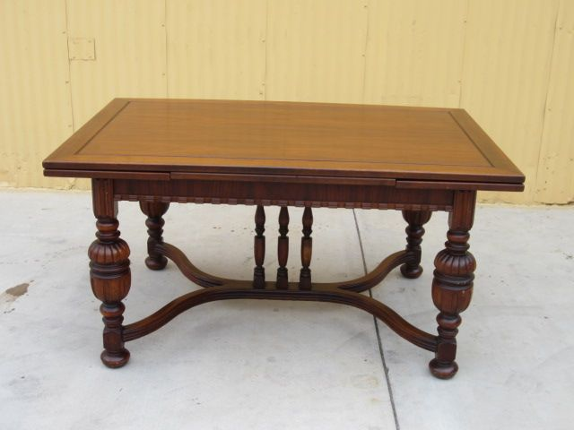 American antique dining table library table desk antique furniture sold on ruby lane - Antiques dining tables ...