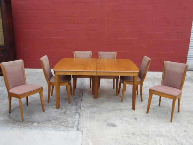 Heywood Wakefield Dining Set Post Modern Mid Century Furniture
