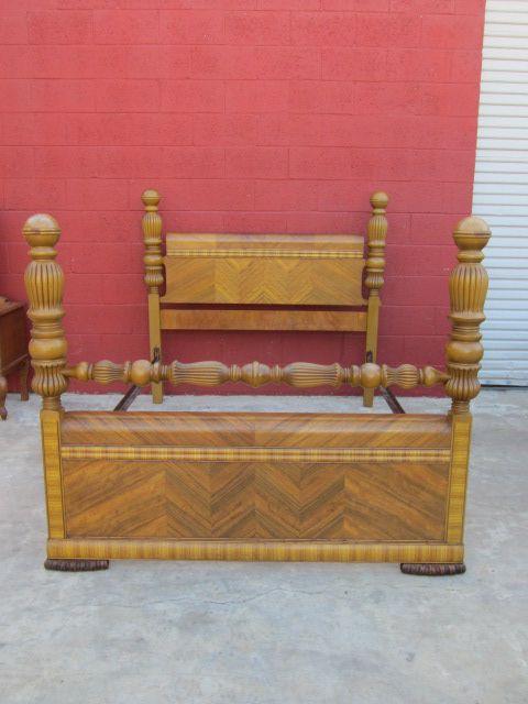 Waterfall Bedroom Suite Part - 33: Art Deco Bed Paul Bunyan Waterfall Bed American Bedroom Furniture