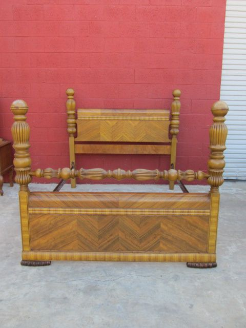 Art Deco Bed Paul Bunyan Waterfall Bed American Bedroom Furniture From