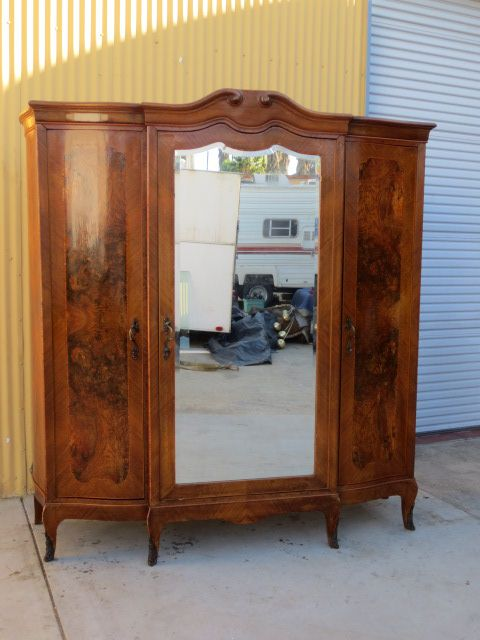 Italian Antique Armoire Wardrobe Antique Bedroom Furniture
