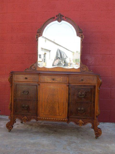 American antique dresser antique bedroom furniture sold on for Lane bedroom furniture