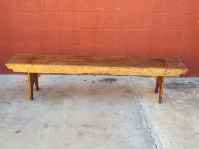 Antique Pine Bench Primitive Pine Country Antique Furniture Sold On Ruby Lane