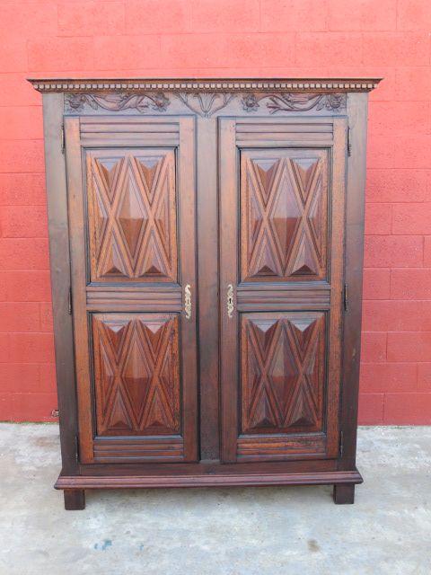 Spanish Antique Armoire Wardrobe Cabinet Antique Furniture