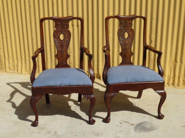 Pair of Vintage Henredon Arm Chairs Vintage Furniture