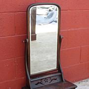 American Antique Mirror Shaving Mirror Dressing Mirror Antique Furniture
