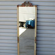 French Antique Hall Mirror Dressing Mirror Antique Wall Mirror