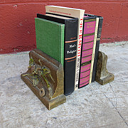 Pair of Victorian Antique Bookends Antique Book Ends