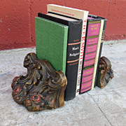 Pair of American Antique Victorian Bookends
