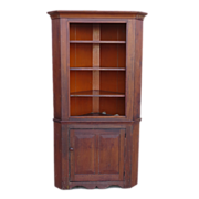 American Antique Corner Cabinet Antique Furniture