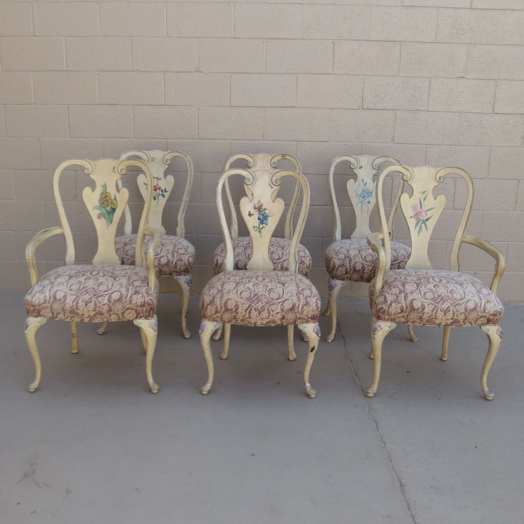 French Antique Dining Chairs Shabby Chic Chairs Antique Furniture