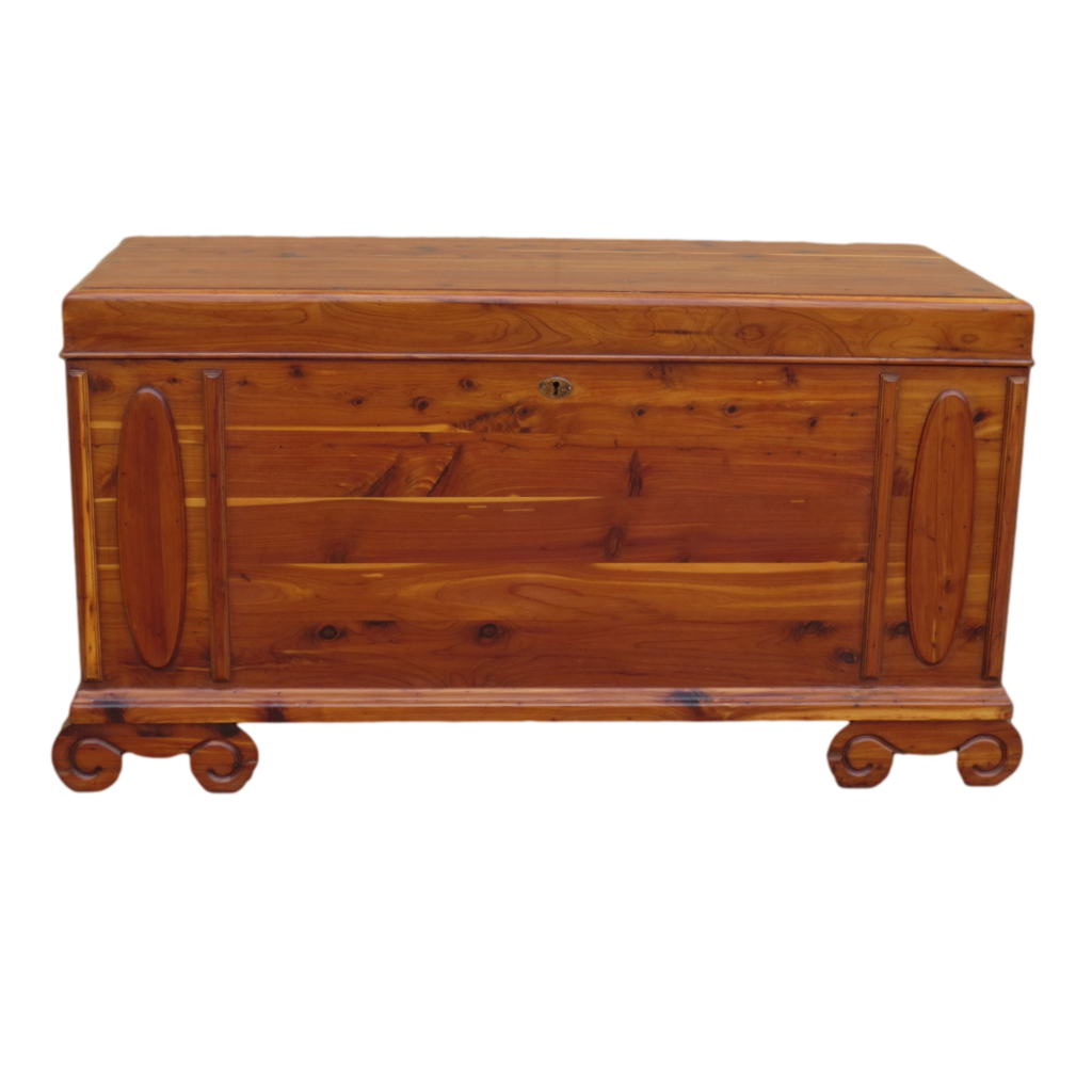 American Antique Cedar Chest Antique Trunk Antique Furniture - American Antique Cedar Chest Antique Trunk Antique Furniture SOLD