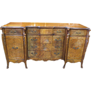 Antique Sideboard Server French Provincial Sideboard Walnut Sideboard Server Antique Furniture