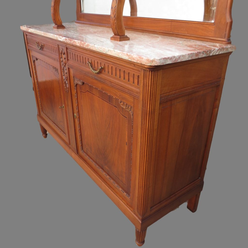 walnut kitchen cabinet antique buffet antique hutch antique 3341