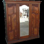 Antique Victorian Armoire Antique Wardrobe Antique Furniture