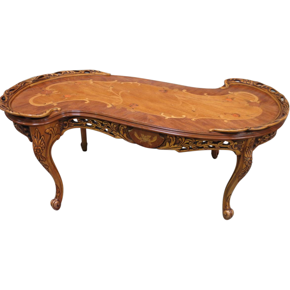 Antique french provincial coffee table antique coffee for Antique furnishings