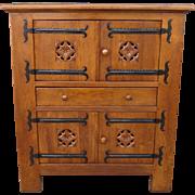 Spanish Antique Rustic Cabinet Antique Cupboard Antique Bar Antique Furniture