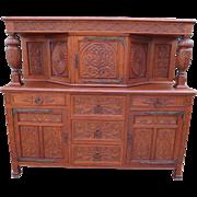 French Antique Cabinet Antique Sideboard Antique Court Cupboard Antique Furniture