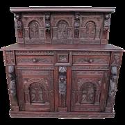Spanish Antique Sideboard Antique Cabinet Antique Furniture