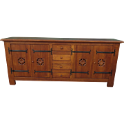Spanish Antique Sideboard Antique Cabinet Antique Cupboard Antique Furniture