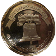 One Troy Ounce Liberty Silver Coin