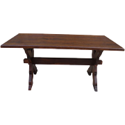 French Antique Rustic Table French Antique Library Table Antique Furniture