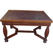 French Antique Dining Table Antique Library Table French Antique Furniture