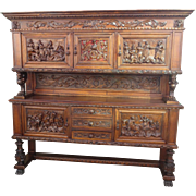 Italian Antique Cabinet Carved Antique Server Antique Sideboard Antique Furniture