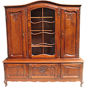 French Antique China Cabinet French Antique Bookcase French Antique Furniture
