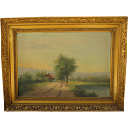Antique Painting Antique Oil Painting Framed Painting